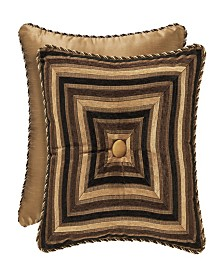 "Five Queens Court Reilly 18"" Square Pillow"