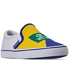 Boys' Landyn Slip-On Casual Sneakers from Finish Line