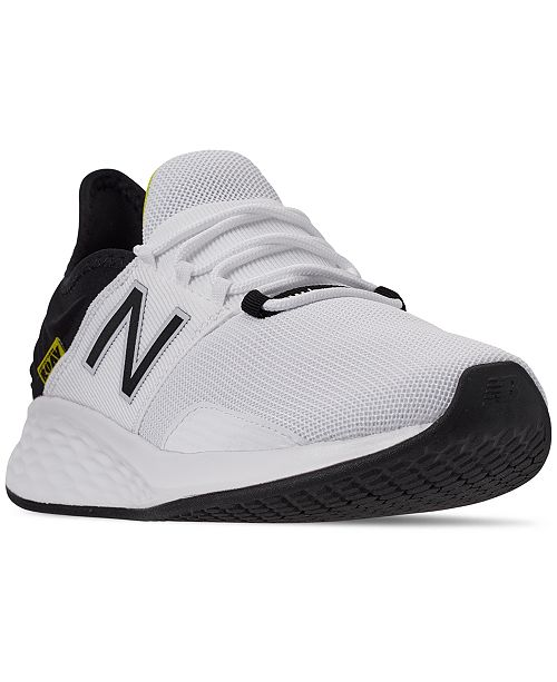 online store 8b9b7 8b3a2 ... New Balance Men s Fresh Foam Roav Running Sneakers from Finish ...