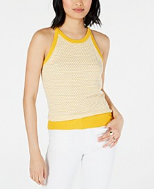 Honeycomb Sleeveless Sweater, Created for Macy's