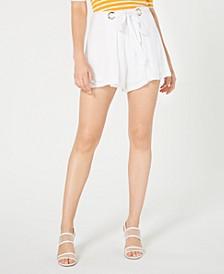 Chica Grommet-Embellished Shorts