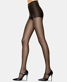 Silk Reflections 6 Pack Control Top Silky Sheer Pantyhose