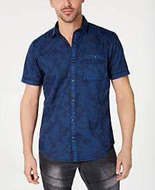 INC Men's Camo Pocket Shirt, Created for Macy's