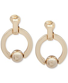 Lauren Ralph Lauren Doorknocker Clip-On Earrings