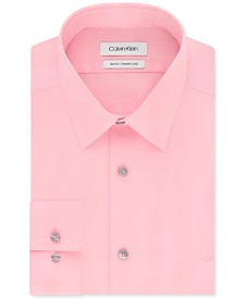 Calvin Klein Men's Slim-Fit Stretch Flex Collar Dress Shirt, Online Exclusive Created for Macy's