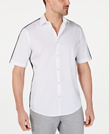 Alfani Men's David Contrast Shirt, Created for Macy's