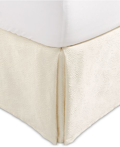 Hotel Collection Classic Ombré Leopard California King Bedskirt, Created for Macy's
