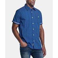 Deals on Weatherproof Vintage Men's Micro-Floral Shirt
