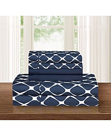 Bloomingdale 6-Piece Wrinkle Free Sheet Set Queen