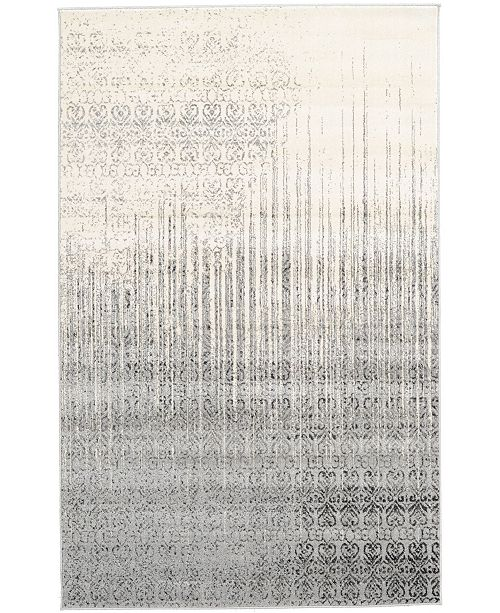 Bridgeport Home Lyon Lyo2 Gray 5' x 8' Area Rug