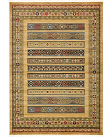 Bridgeport Home Ojas Oja4 Tan 7' x 10' Area Rug