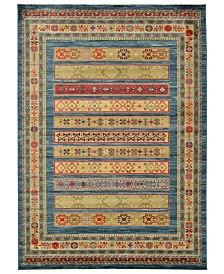 Bridgeport Home Ojas Oja4 Beige 7' x 10' Area Rug