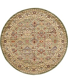Passage Psg7 Light Green 8' x 8' Round Area Rug