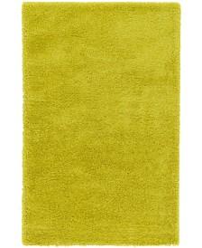 Bridgeport Home Jiya Jiy1 Chartreuse Yellow 5' x 8' Area Rug