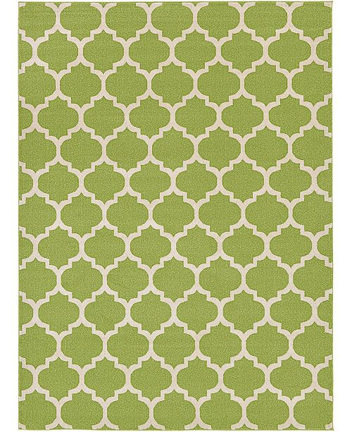 Bridgeport Home Arbor Arb1 Light Green 8' x 11' Area Rug