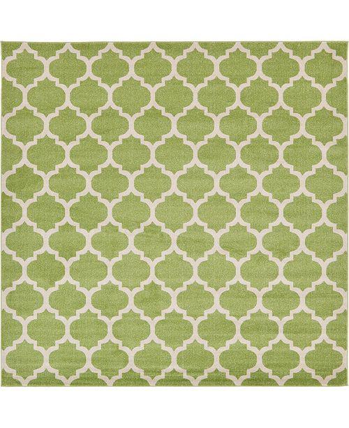 Bridgeport Home Arbor Arb1 Light Green 10' x 10' Square Area Rug