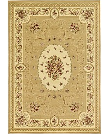 Bridgeport Home Belvoir Blv4 Tan 7' x 10' Area Rug