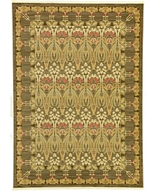 Bridgeport Home Orwyn Orw3 Brown 7' x 10' Area Rug