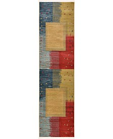 "Ojas Oja9 Tan 2' 7"" x 10' Runner Area Rug"