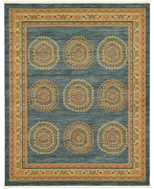 Bridgeport Home Ojas Oja2 Navy Blue Area Rug Collection