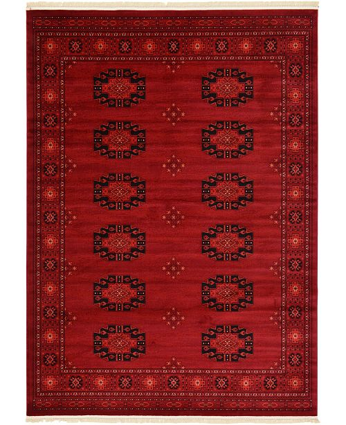 Bridgeport Home Vivaan Viv1 Red 8' x 11' Area Rug
