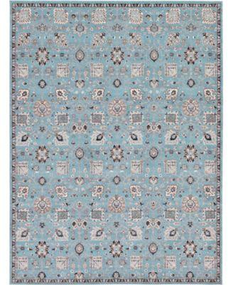 Wisdom Wis1 Light Blue 9' x 12' Area Rug