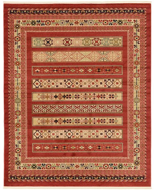 Bridgeport Home Ojas Oja4 Rust Red Area Rug Collection
