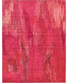 Bridgeport Home Adah Ada2 Pink 9' x 12' Area Rug