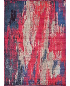 "Bridgeport Home Adah Ada2 Magenta 8' x 11' 4"" Area Rug"