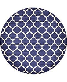 Arbor Arb1 Dark Blue 10' x 10' Round Area Rug