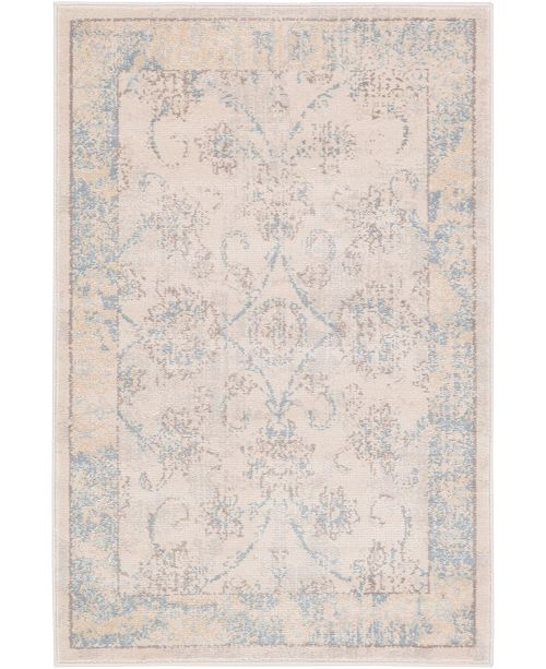 "Bridgeport Home Caan Can6 Beige 2' 2"" x 3' Area Rug"