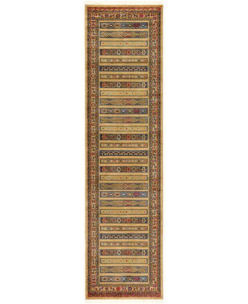 """Bridgeport Home Ojas Oja4 Tan 2' 7"""" x 10' Runner Area Rug"""