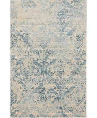 Caan Can5 Blue 10' x 13' Area Rug