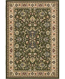 Bridgeport Home Arnav Arn1 Green 6' x 9' Area Rug