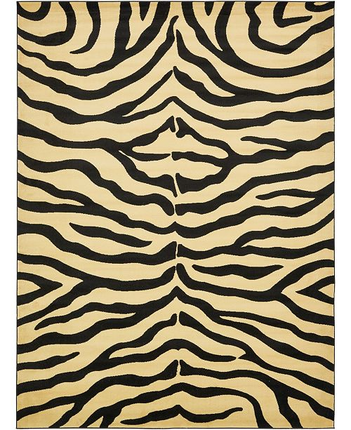 Bridgeport Home Maasai Mss5 Ivory 9' x 12' Area Rug