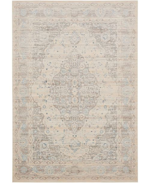 Bridgeport Home Caan Can2 Taupe 7' x 10' Area Rug