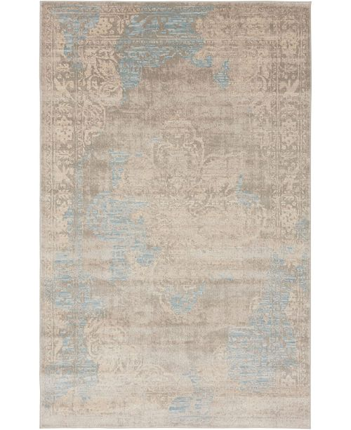Bridgeport Home Caan Can4 Taupe 4' x 6' Area Rug