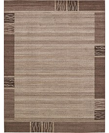 Bridgeport Home Lyon Lyo1 Light Brown 10' x 13' Area Rug