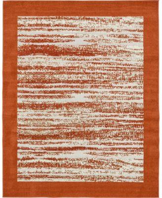 Pashio Pas4 Terracotta 8' x 10' Area Rug