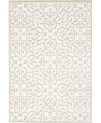 Marshall Mar5 Snow White 4' x 6' Area Rug