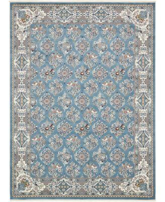 Zara Zar6 Blue 10' x 13' Area Rug