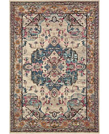 Bridgeport Home Sana San1 Beige 7' x 10' Area Rug
