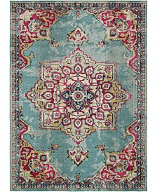 Bridgeport Home Sana San1 Light Blue 9' x 12' Area Rug