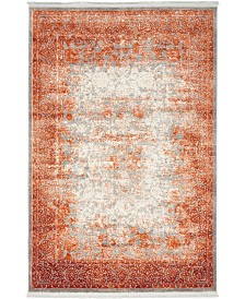 Bridgeport Home Norston Nor3 Terracotta 4' x 6' Area Rug