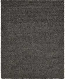Exact Shag Exs1 Graphite Gray 8' x 10' Area Rug