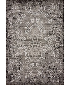 Pashio Pas4 Light Gray 6' x 9' Area Rug
