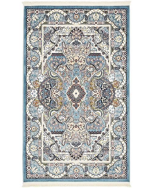 Zara Zar2 Blue Area Rug Collection