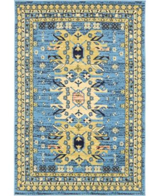 Charvi Chr1 Light Blue 8' x 10' Area Rug