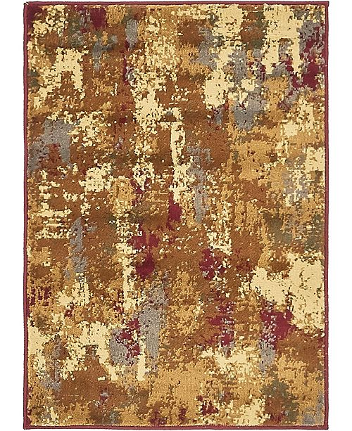 "Bridgeport Home Kallista Kal8 Beige 2' 2"" x 3' Area Rug"