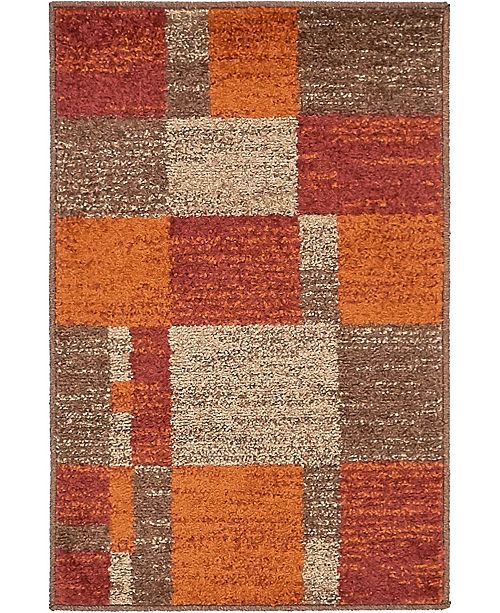 Bridgeport Home Jasia Jas14 Multi 2' x 3' Area Rug